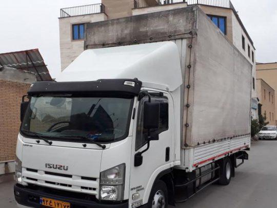 اسنپ بار با کامیونت مجهز مناسب برای حمل اثاثیه منزل در اصفهان